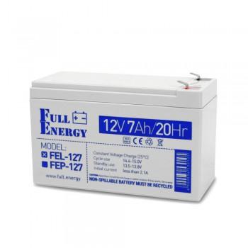 Аккумулятор гелевый 7 Ач для ИБП Full Energy FEL-127