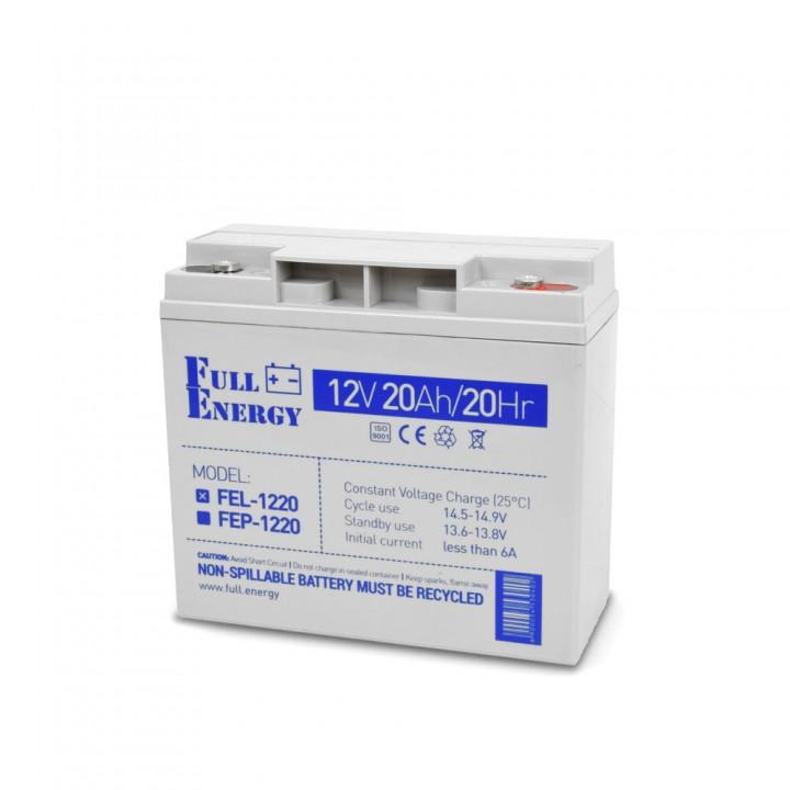 Аккумулятор гелевый 20 Ач для ИБП Full Energy FEL-1220