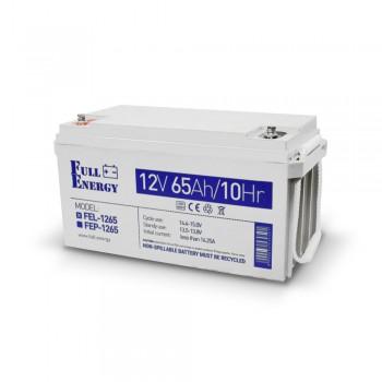 Аккумулятор гелевый 65 Ач для ИБП Full Energy FEL-1265
