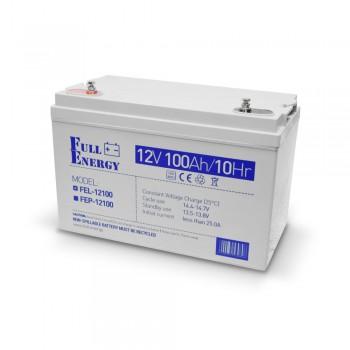 Аккумулятор гелевый 100 Ач для ИБП Full Energy FEL-12100