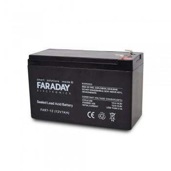Аккумулятор для ИБП 12В 7 Ач Faraday Electronics FAR7-12