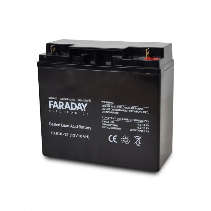Аккумулятор для ИБП 12В 18 Ач Faraday Electronics FAR18-12