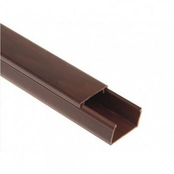 Кабельный канал 220 TM Professional 15х10x2000 мм темно-коричневый
