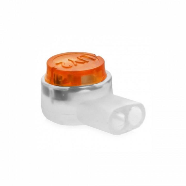 Соединитель проводов (скотч-лок) К2 с гелем 100 Шт