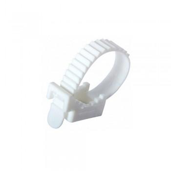 Крепеж ремешковый белый 7 x 80 мм (100 шт/уп)