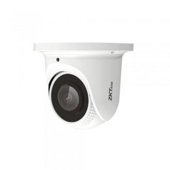 IP-видеокамера 5 Мп ZKTeco ES-855L21C-E3 2.8мм с детекцией лиц для системы видеонаблюдения, металл