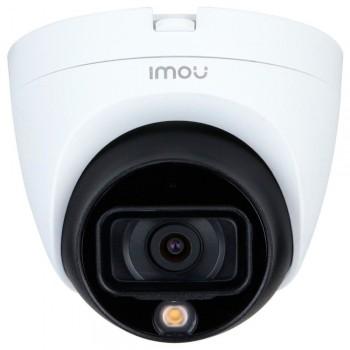 HDCVI видеокамера 5 Мп IMOU HAC-TB51FP (3.6 мм) м+п,  со встроенным микрофоном для системы видеонаблюдения