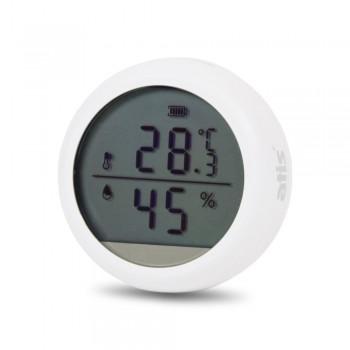 Беспроводной автономный датчик температуры и влажности  ATIS-600DW-T с поддержкой Tuya Smart