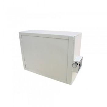 Антивандальный оптобокс для оборудования VAGOS 400 x 300 x 150 мм с крабовым замком