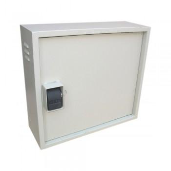 Шкаф VAGOS Super AntiLom 3U-1.5 550 х 500 х 220 мм с крабовым замком для оборудования