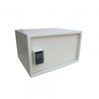 Шкаф VAGOS Super AntiLom 7U-1.5 530 х 320 х 450 мм с крабовым замком для оборудования