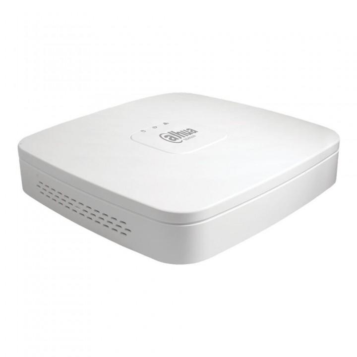 XVR видеорегистратор 4-канальный Dahua DH-XVR5104C-I3 с AI функциями для систем видеонаблюдения