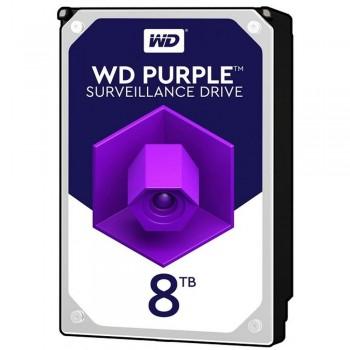 Жесткий диск 8TB Western Digital WD82PURX для видеонаблюдения