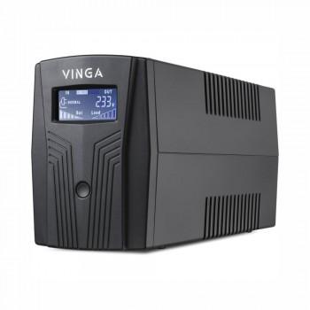 Источник бесперебойного питания Vinga LCD 1200 ВА / 720 Вт