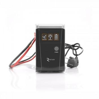 Источник бесперебойного питания Ritar RTSW-500 LED 500 ВА / 300 Вт