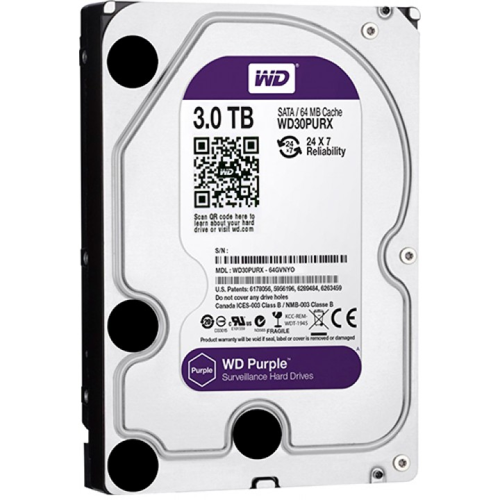 Жесткий диск WD30PURZ 3Tb 64MB