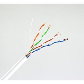 Кабель Одескабель КПВ-ВП (100) 4*2*0,48 (UTP-cat.5E-SL), OK-net, CU, для внутр. работ, 100м.
