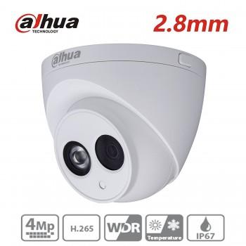 Dahua 4mp купольная камера ipc-hdw4433c-a с микрофоном и защитой IP67