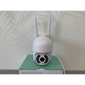 3 Мп mini PTZ IP видеокамера XPM300AFW White с микрофоном динамиком и wifi