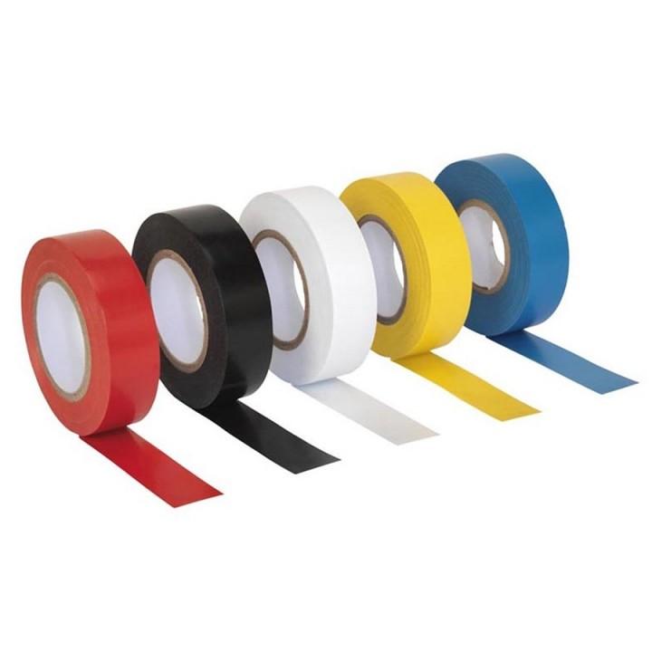 Изолента 10 штук APRO 0,14мм*17мм*10м (цвет в ассортименте)