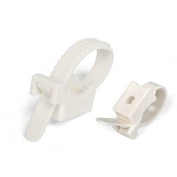 Крепеж ремешковый белый 7х80 мм APRO (100шт)