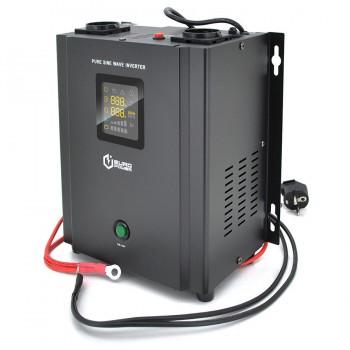 ИБП с правильной синусоидой Europower PSW-EP500WM12 (300 Вт) 5/10А настенный, под внешнюю АКБ 12В