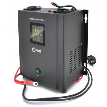 ИБП с правильной синусоидой Europower PSW-EP800WM12 (480 Вт) 5/10А настенный, под внешнюю АКБ 12В