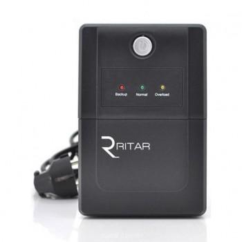 ИБП Ritar RTP850 (510W) Proxima-L, LED, AVR, 2st, 2xSCHUKO socket, 1x12V9Ah