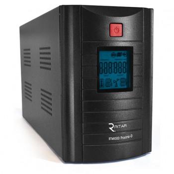 ИБП Ritar RTM1000 (600W) Proxima-D, LCD, AVR, 3st, 3xSCHUKO socket, 2x12V7Ah