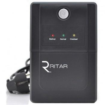 ИБП Ritar RTP650L-U (390W) Proxima-L, LED, AVR, 2st, USB, 2xSCHUKO socket, 1x12V7Ah
