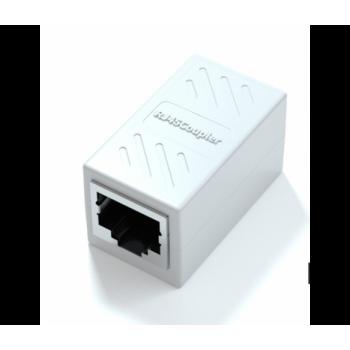 Экранированный Соединитель RJ45 8P8C мама / мама RJ45 для соединения кабеля, цвет в ассортименте