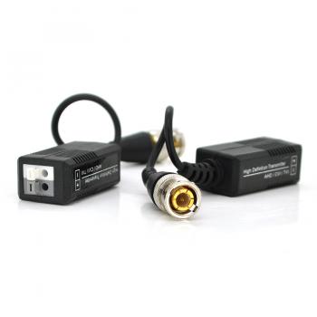 Пассивный приемопередатчик видеосигнала AHD/CVI/TVI, под зажим без болтов