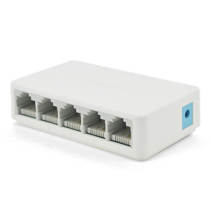 Коммутатор Tenda S105 5 портов Ethernet 10/100 Мбит/сек, BOX Q100