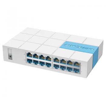 Коммутатор Mercury S116M, 16 портов Ethernet 10/100 Мбит/сек, BOX Q14 (280*225*67) 0.56 кг (185*110*38)