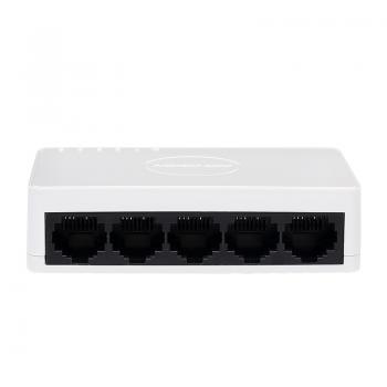 Коммутатор HV DS-3E0105D-E 5 портов Ethernet 10/100 Мбит/сек, BOX Q200