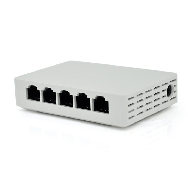 Коммутатор HV 3E0505D-E 5 портов Ethernet 10/100 Мбит/1000 Мбит/сек