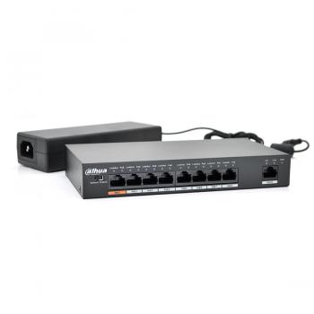 Коммутатор POE PFS3009-8ET-9 48V с 8 портами POE 100Мбит
