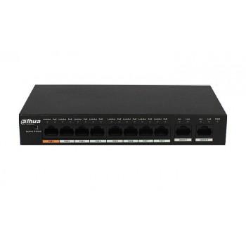 Коммутатор POE DH-PFS3010-8ET-96 48V с 8 портами POE 100Мбит