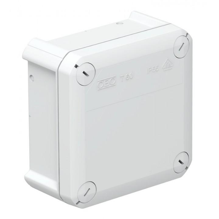 Коробка распределительная наружная Т60 114x114x57 IP66 OBO Bettermann цвет белый
