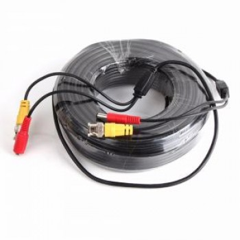 Патчкорд комбинированный коаксиальный+питание BNC+DC 5m, черный, Q200