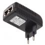 PoE-Инжектор 100Мб 48V 0.5A для ip камер и прочего оборудования