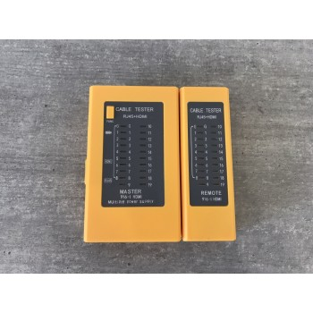 Кабельный тестер Merlion 916-I, RJ-45, HDMI- выход