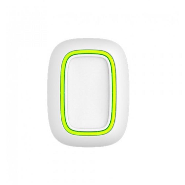 Беспроводная тревожная кнопка Ajax Button white