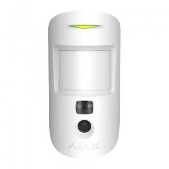 Беспроводной датчик движения Ajax MotionProtect Camera white с фотокамерой для подтверждения тревог