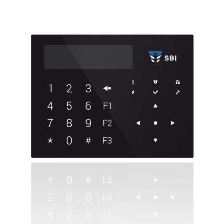 Клавиатура К-GLCD (черная)