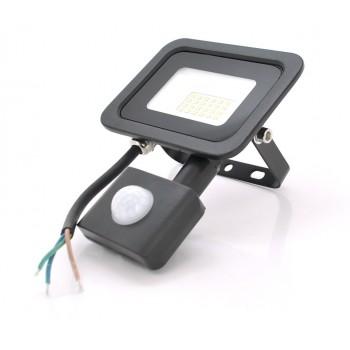 Прожектор LED c датчиком движения SLIM SENSOR LED RITAR RT-FLOOD/MS20A, 20W, IP65, 2000Lm, 6500K